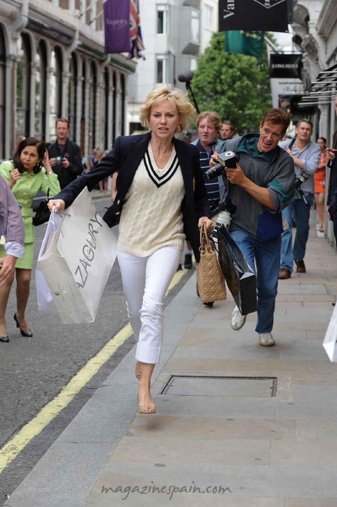 Naomi Watts es Diana