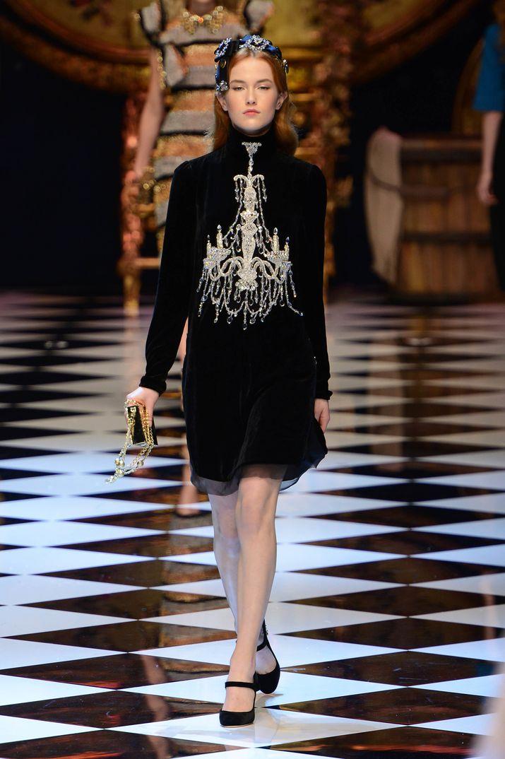 milan fashion week 2016 dolce gabbana. Black Bedroom Furniture Sets. Home Design Ideas