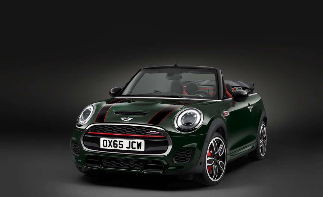 mini john cooper works cabrio. Black Bedroom Furniture Sets. Home Design Ideas