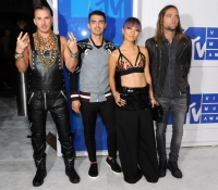 Joe Jonas, JinJoo Lee, Cole Whittle and Jack Lawless - DNCE