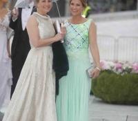 princesa Sophie de Wessex y princesa Martha Louise