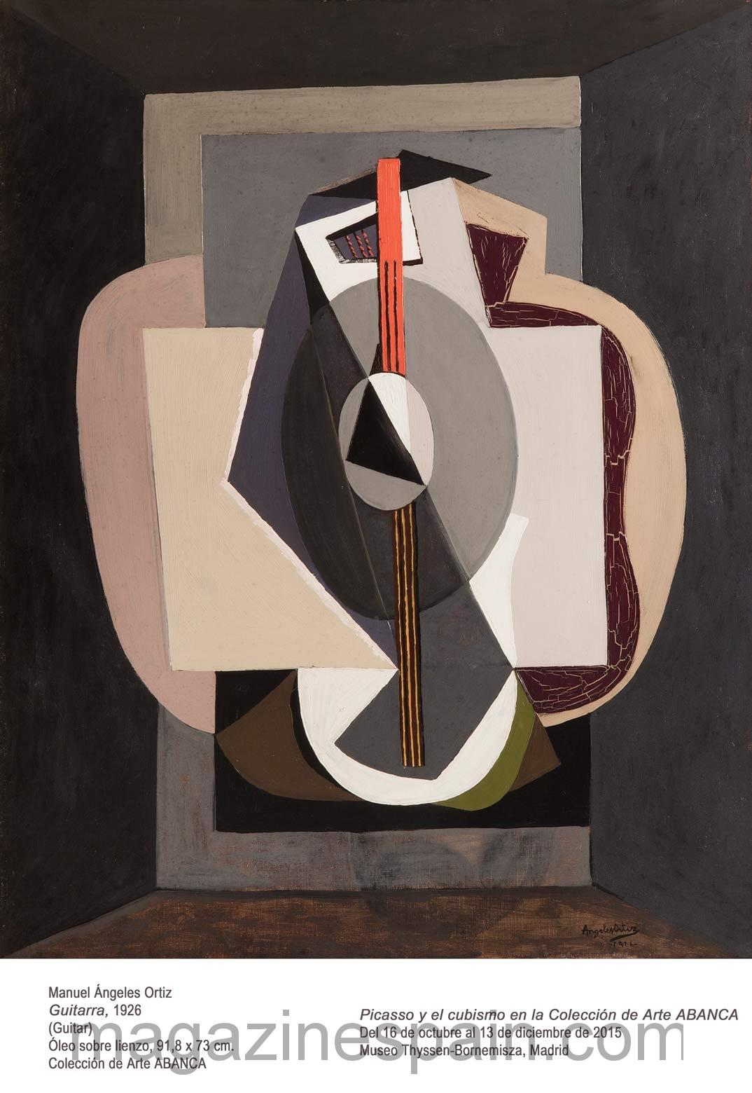 Picasso Y El Cubismo En El Museo Thyssen
