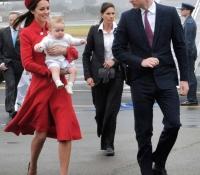 en nueva zelanda con sus padres en abril de 2014