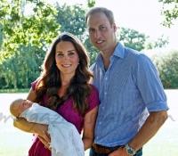 duques de cambridge presentan a su hijo en agosto 2013