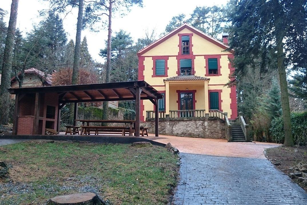 El sitio de mi recreo escapada rural muy cerca de madrid for Casa rural sierra madrid piscina barbacoa