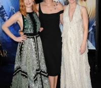 jessica chastain charlize theron y emily blunt