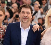 Adele Excarchopoulos Javier Bardem y Charlize Theron