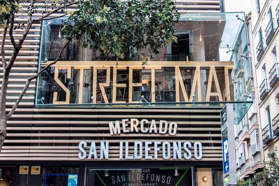 Mercado de San Ildefonso: Revolución callejera
