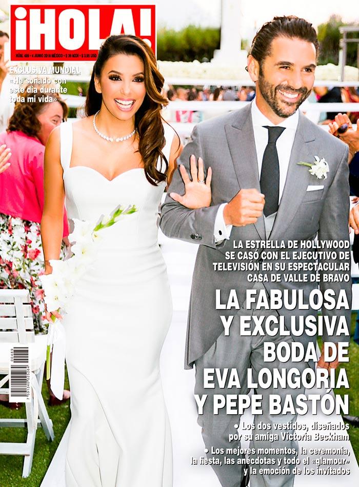 Eva Longoria boda Pepe Bastón - Revista Hola - 2016