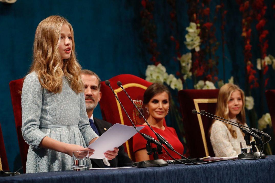 Princesa Leonor - Premios Princesa de Asturias 2019  - Casa S.M. El Rey