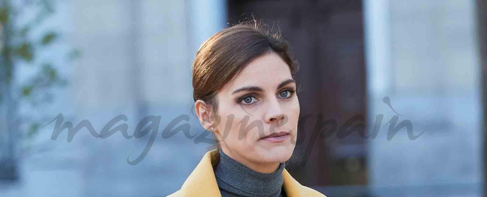 Amaia Salamanca cambio de look por exigencias del guion