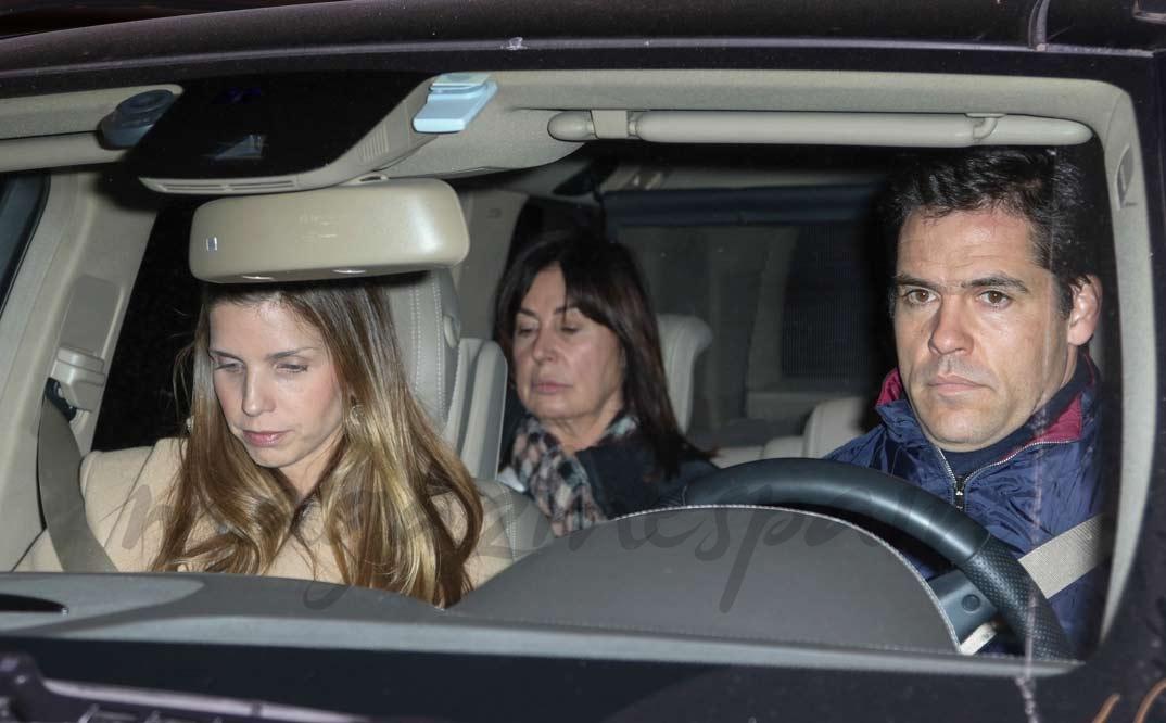 Carmen Martínez Bordiú, Luis Alfonso de Borbón y Margarita Vargas