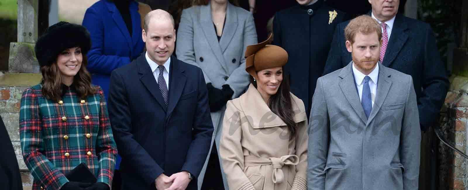 Meghan Markle y Kate Middleton: primer duelo de estilo