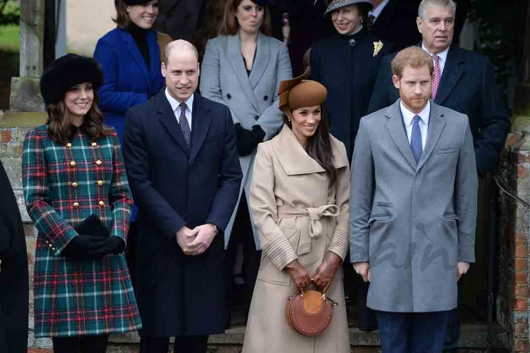 meghan markle primeras navidades con la familia real britanica