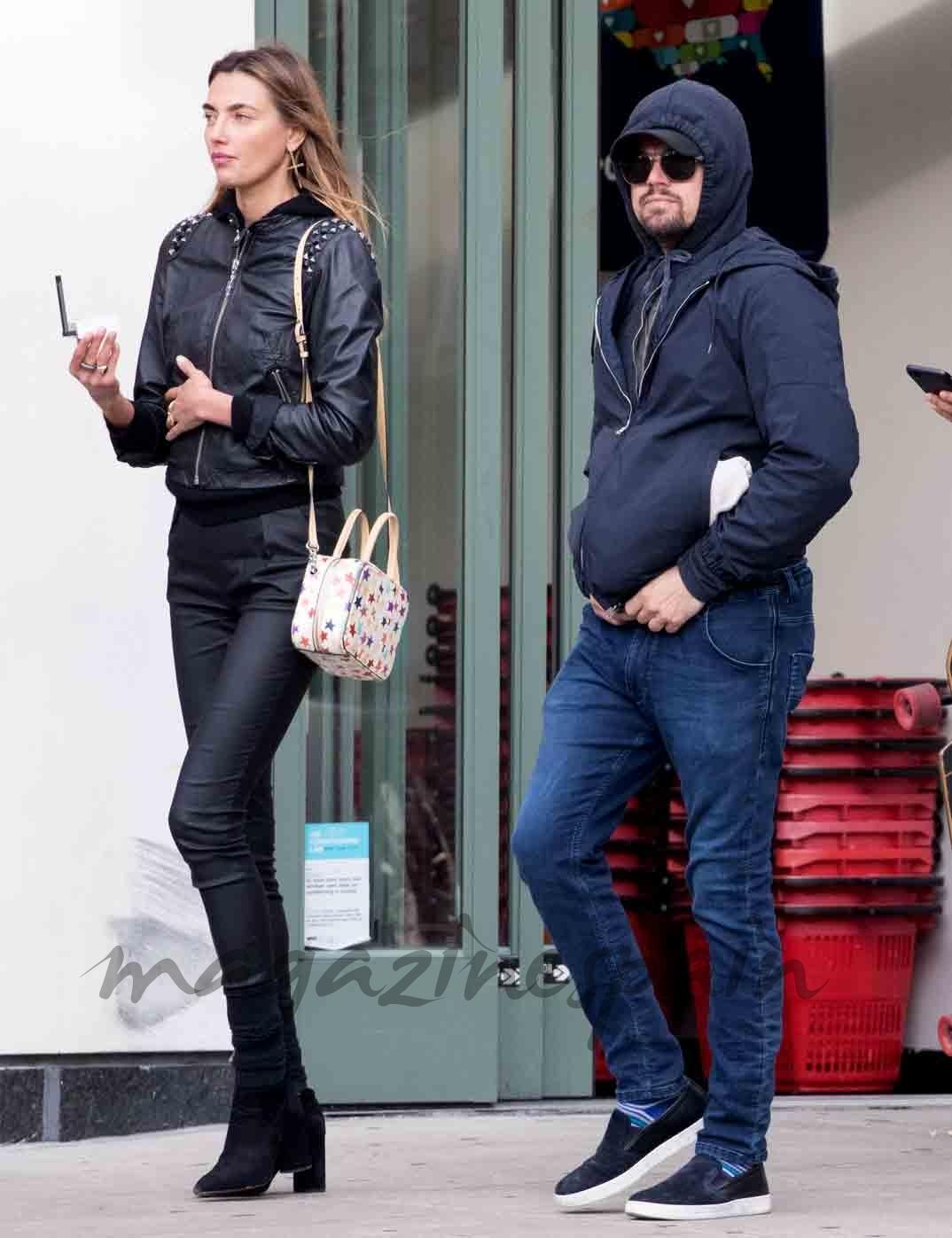 leonardo DiCaprio y Alina Baikova