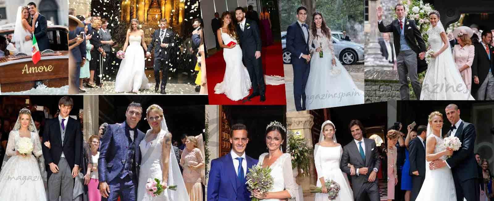 Las mejores bodas del año 2017