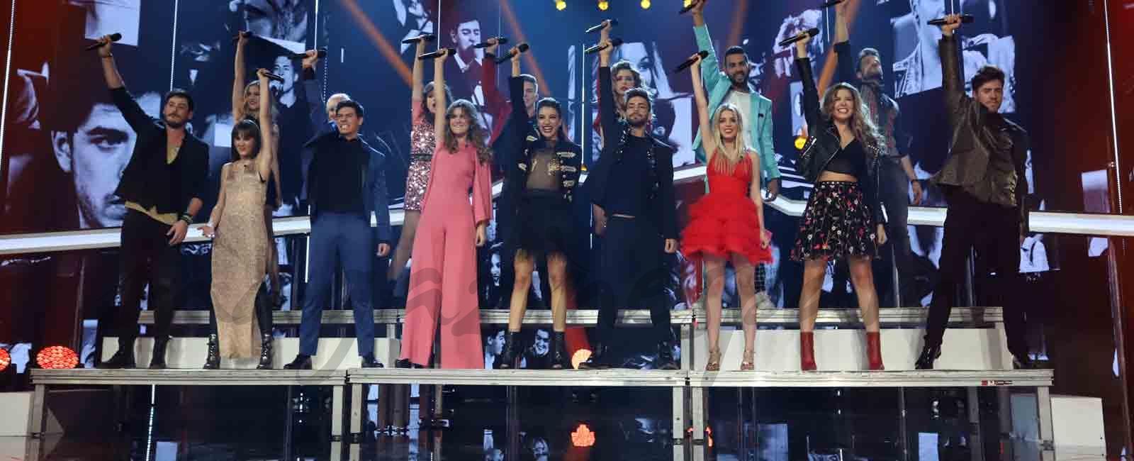 Los mejores momentos de la gala especial Navidad 'OT 2017'