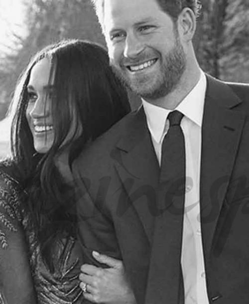 Así son las invitaciones a la boda del príncipe Harry y Meghan Markle