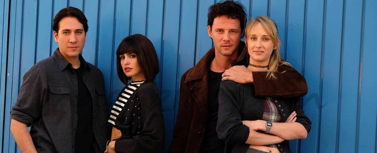 Alberto Ammann, Verónica Echegui, Eloy Azorín e Ingrid García Johnsson - Apaches - © Atresmedia