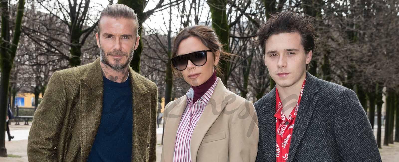 Los Beckham, fieles a Vuitton