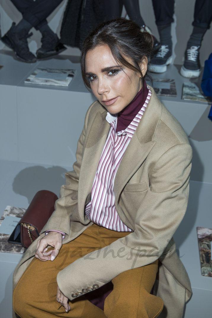 Victoria Beckham en el desfile de Louis Vuitton