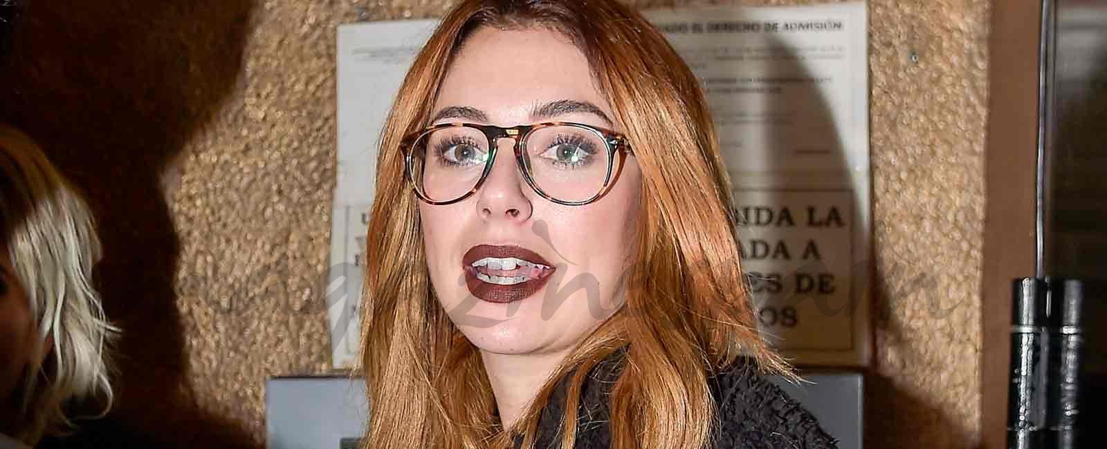 Blanca Suárez se va de fiesta con «Las chicas del cable»