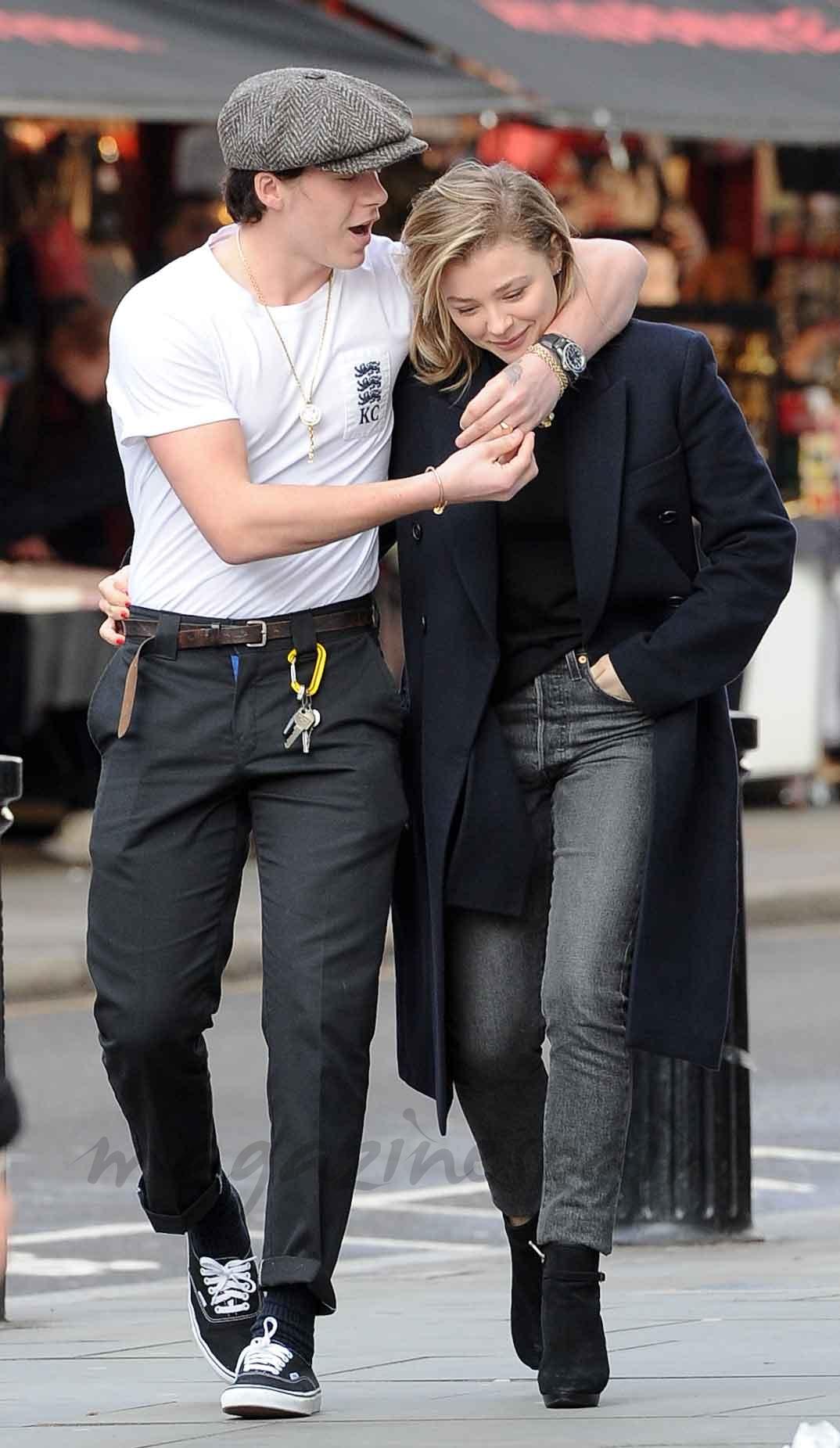 Brooklyn Beckham y Chloë Moretz