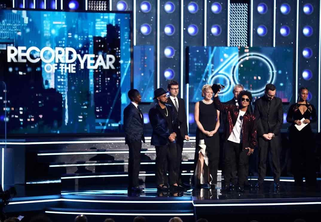 Bruno Mars - Premios Grammy 2018