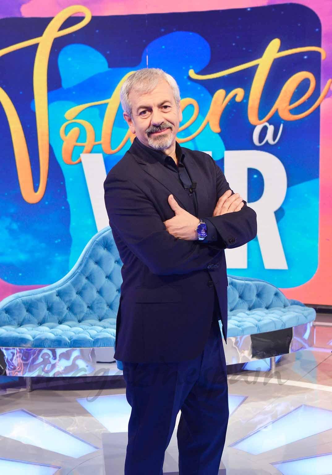 """Carlos Sobera en """"Volverte a ver"""" - © Mediaset"""