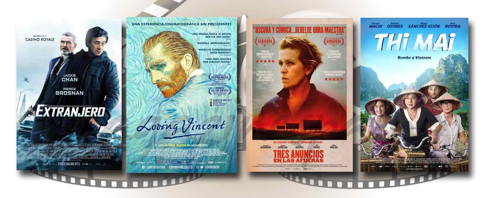 Estrenos de Cine de la Semana… 12 de Enero 2018