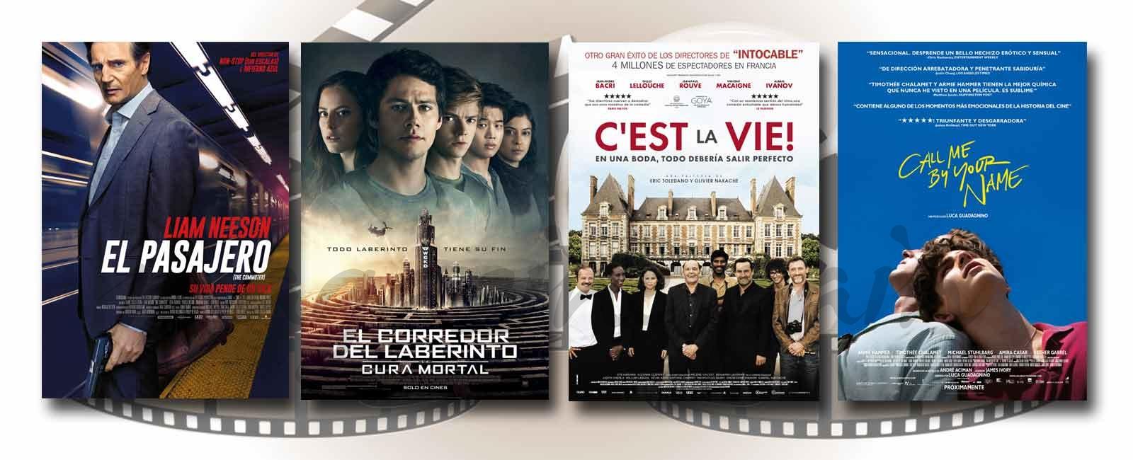 Estrenos de Cine de la Semana… 26 de Enero 2018