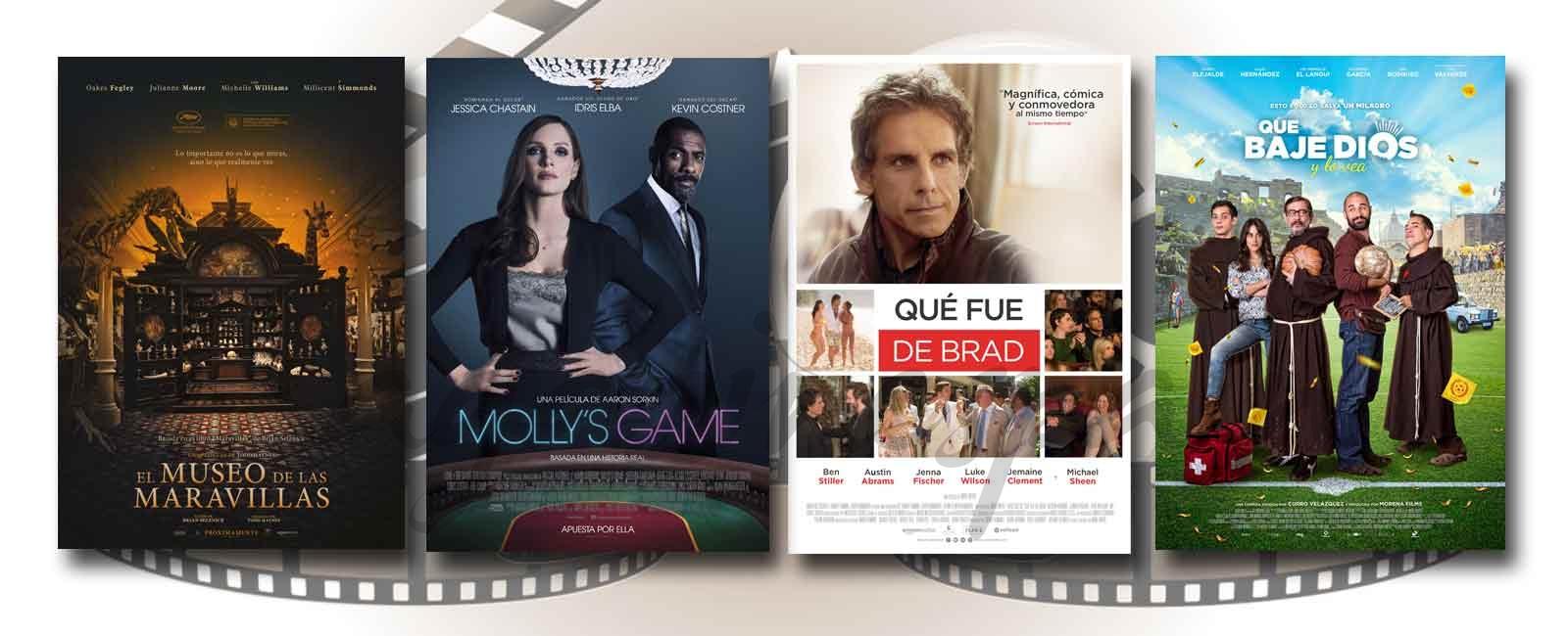 Estrenos de Cine de la Semana… 5 de Enero 2018