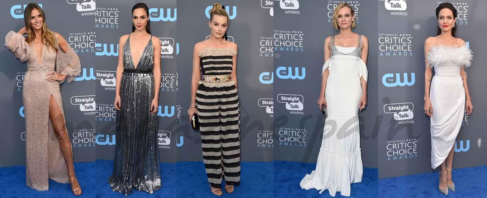 La espectacular alfombra roja de los Critic's Choice Awards 2018