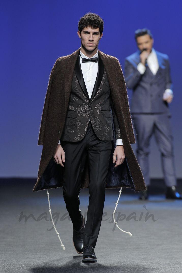 Beltrán Lozano - Mercedes Fashion Week Madrid: García Madrid Otoño Invierno 2018-2019