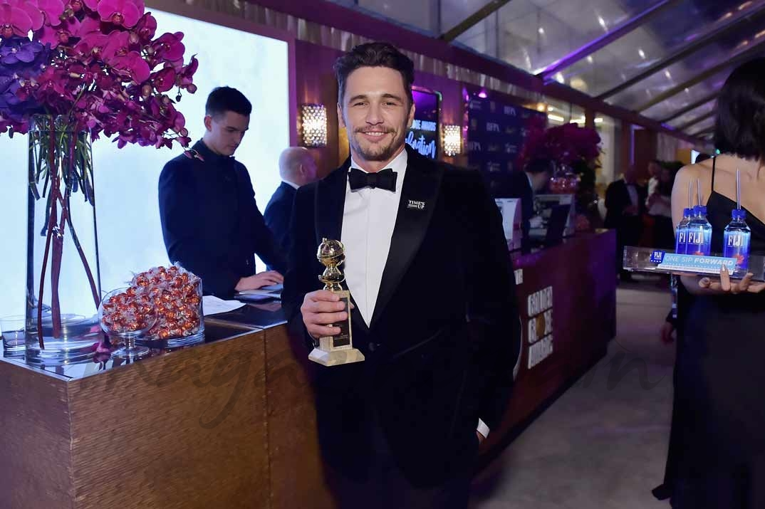 James Franco - Globos de Oro 2018