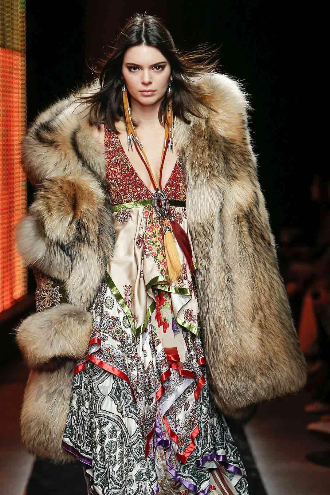 Kendall Jenner - Dsquared2 - Milan Fashion Week