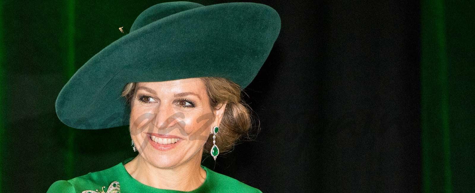 Máxima de Holanda, la reina de los sombreros