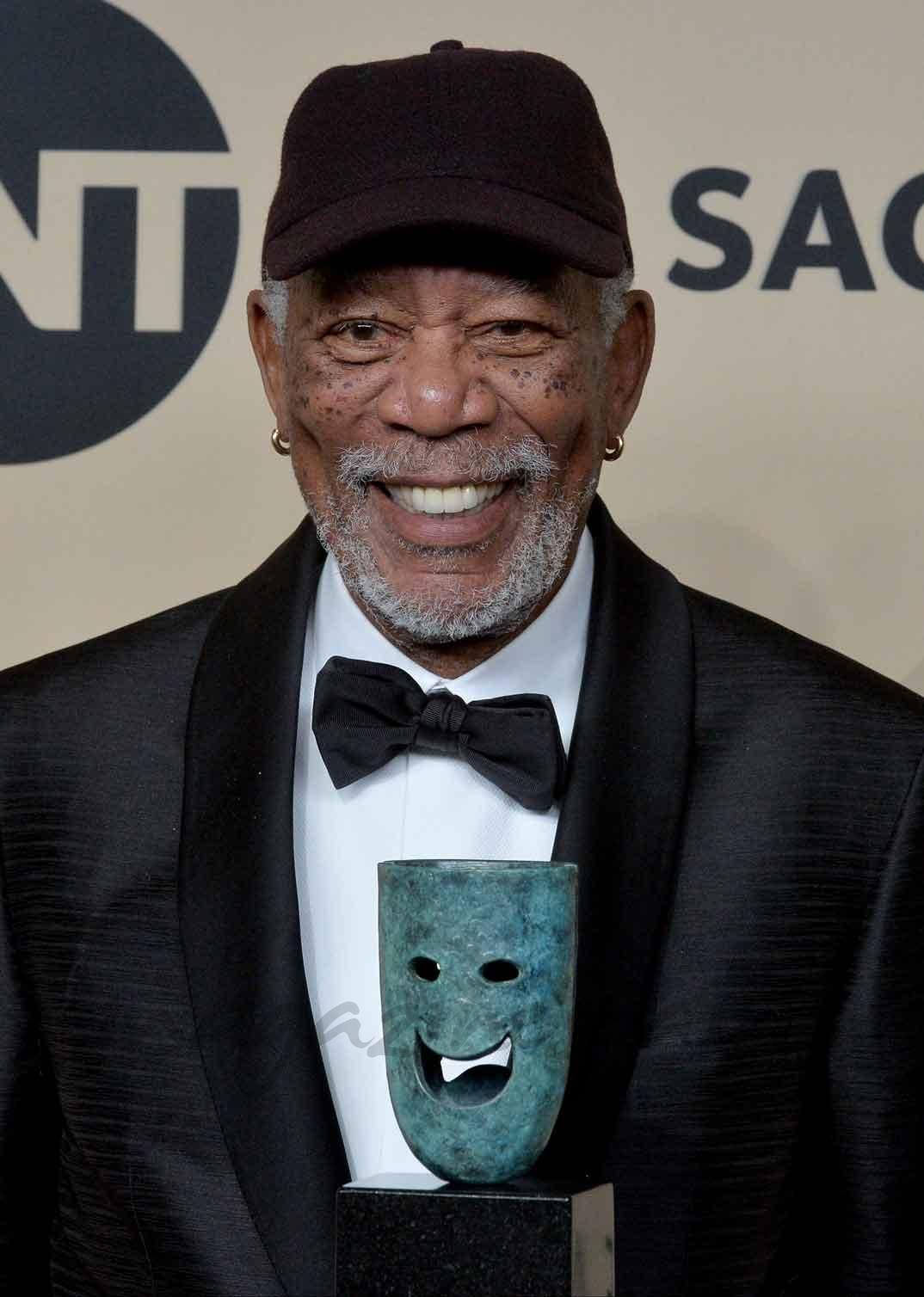 Morgan Freeman - Premios SAG 2018