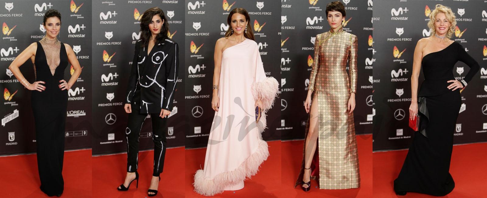 Los mejores looks de la alfombra roja de los Premios Feroz