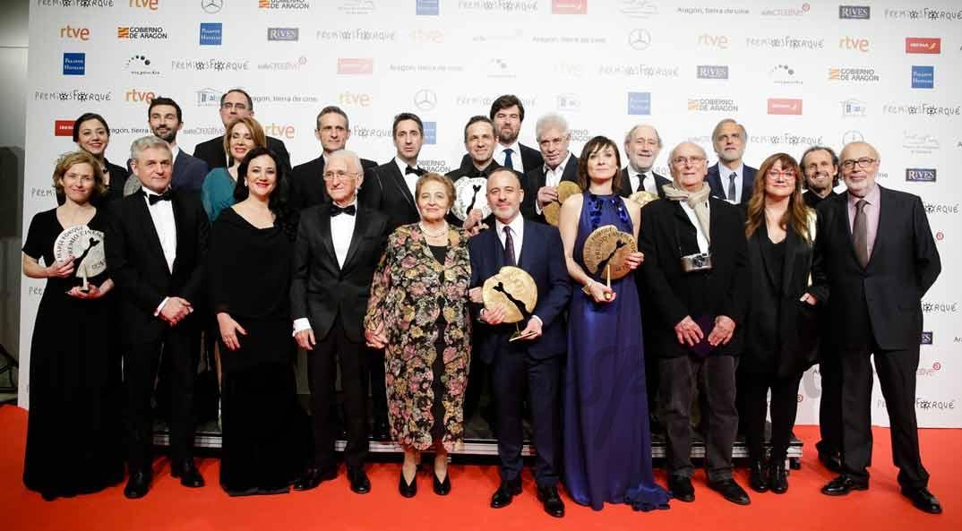 Premios Forqué - Premiados