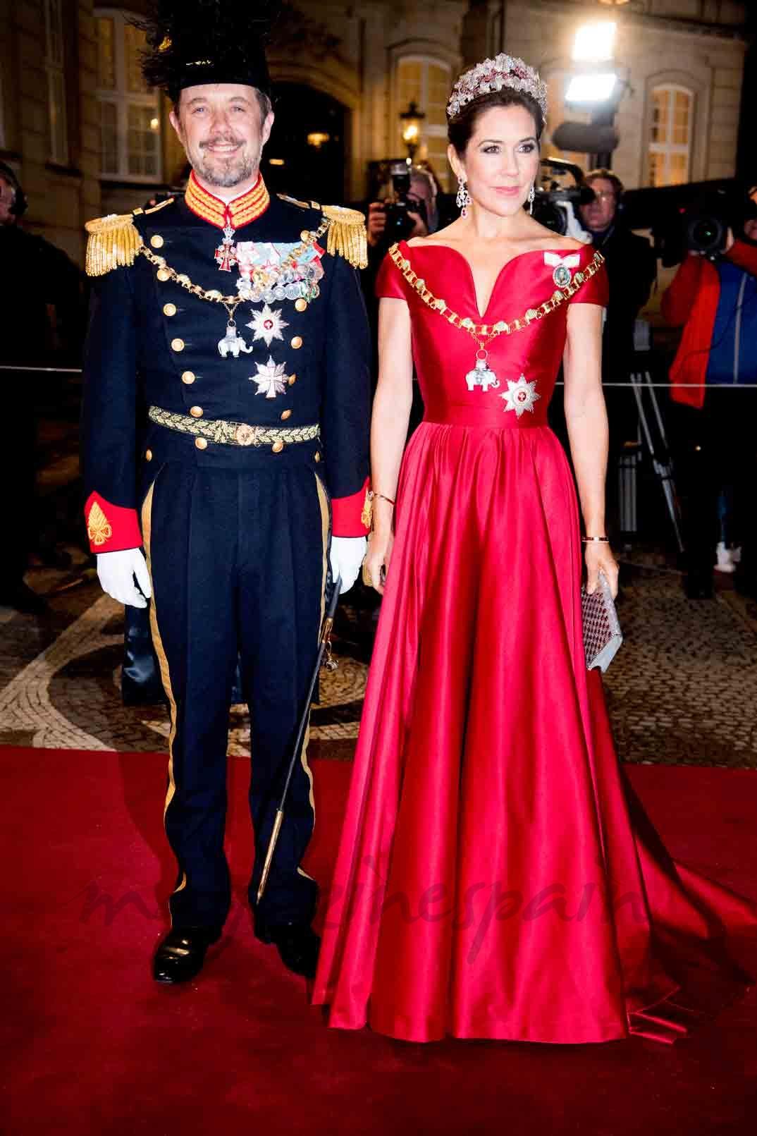 Príncipes Federico y Mary de Dinamarca