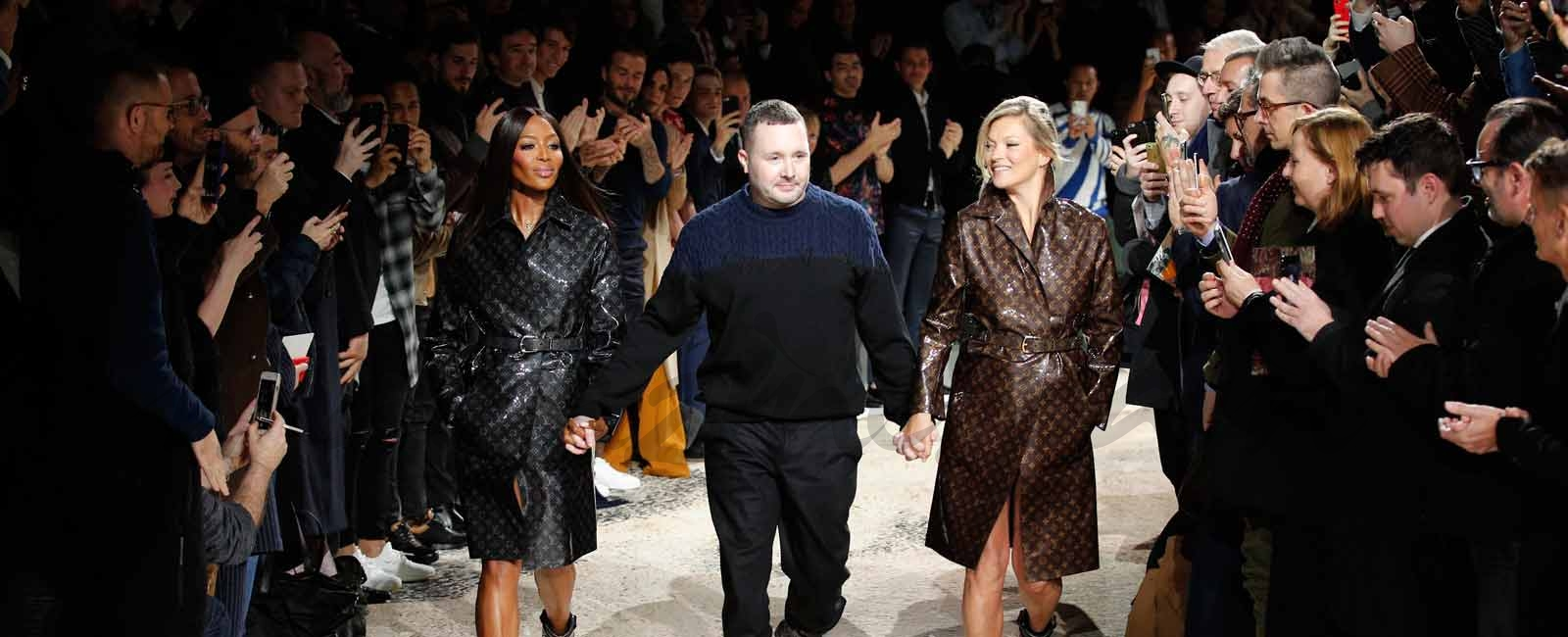 Kim Jones se despide de Louis Vuitton de la mano de Naomi Campbell y Kate Moss