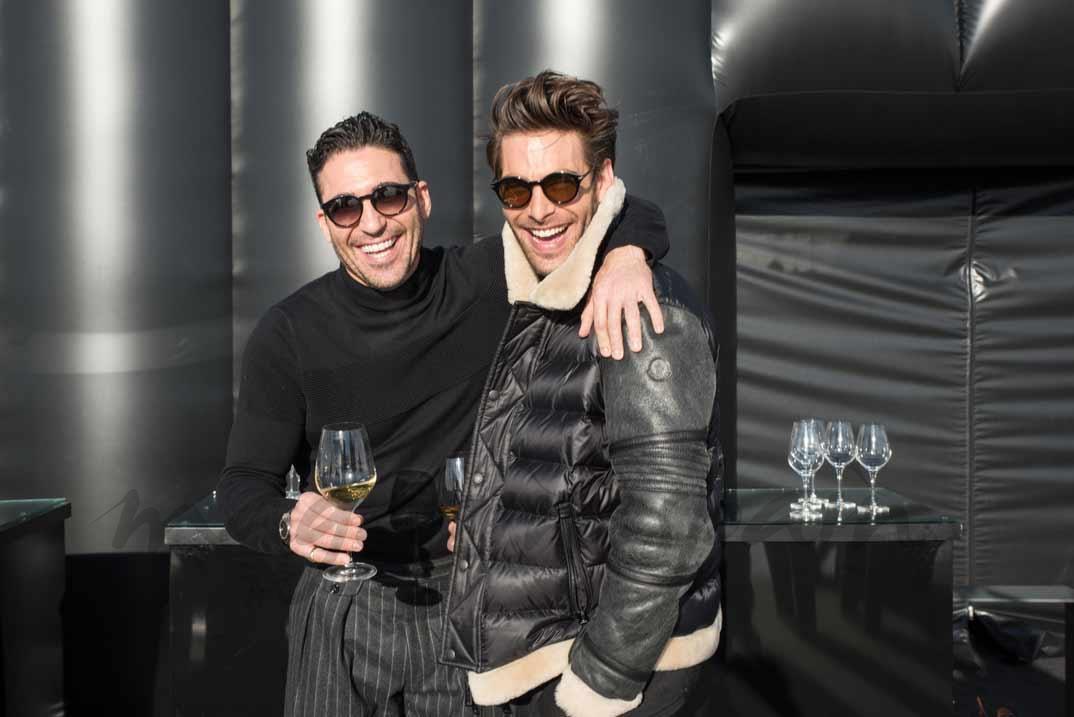 Miguel Ángel Silvestre y Jon Kortajarena