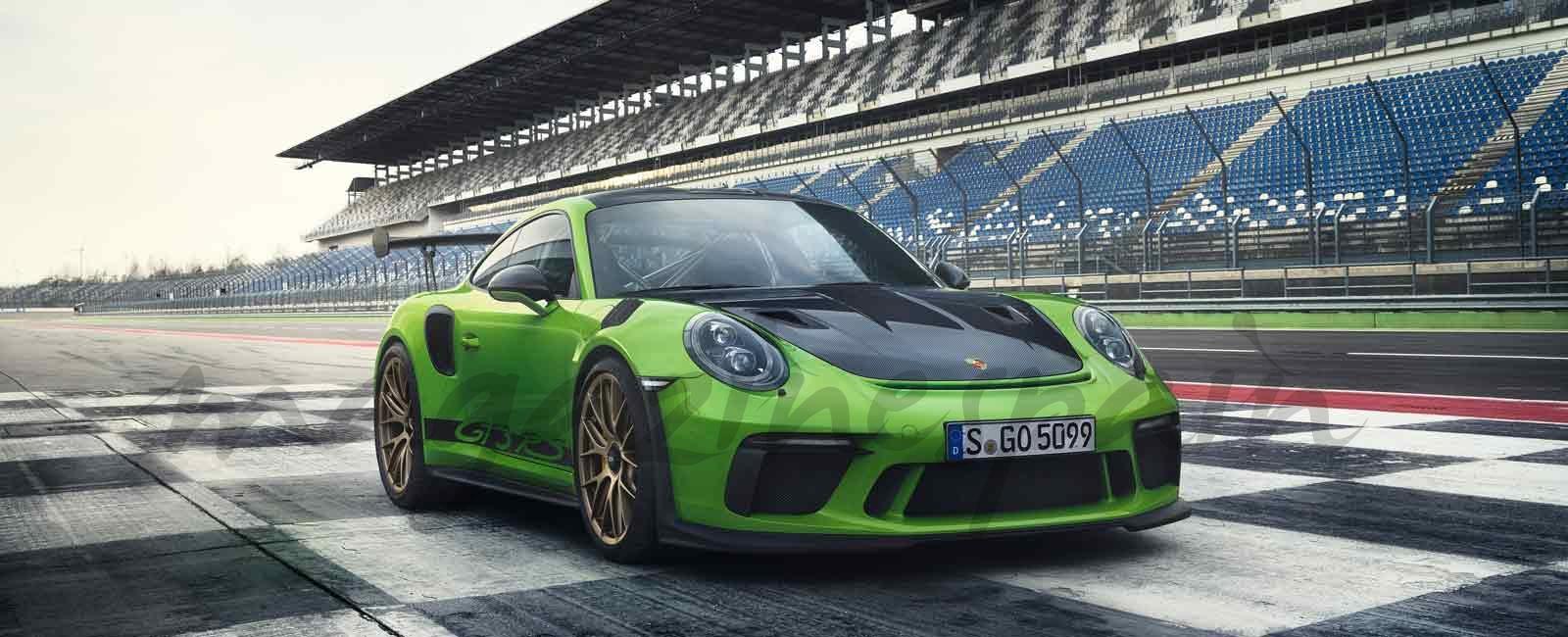 Estreno mundial del nuevo Porsche 911 GT3 RS