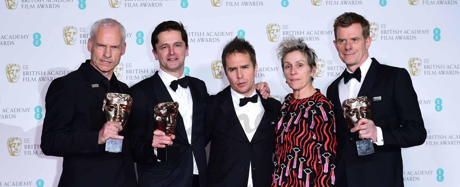 Premios Bafta 2018: Los Premiados