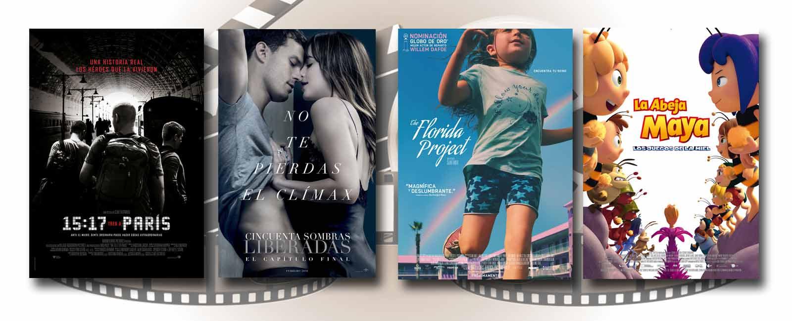 Estrenos de Cine de la Semana… 9 de Febrero 2018
