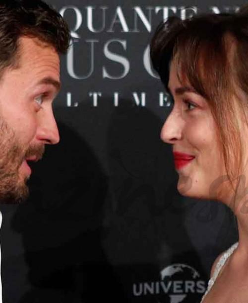 """Dakota Johnson y Jamie Dornan, una pareja con mucha química, en el estreno de """"Cincuenta sombras liberadas"""""""