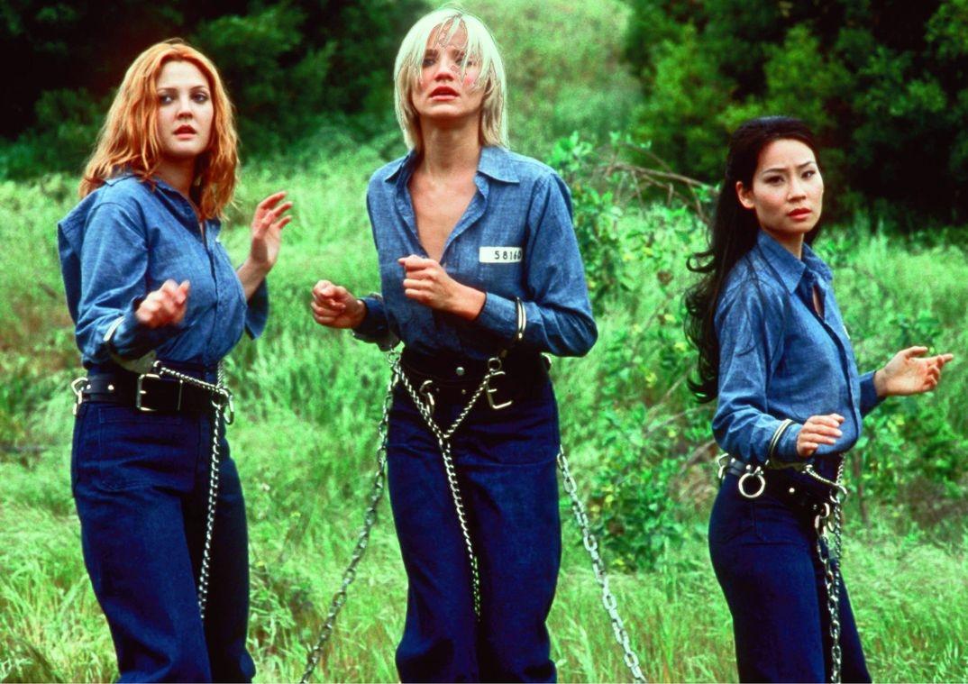 Drew Barrymore, Cameron Diaz y Lucy Liu - Los Ángeles de Charlie - 2000