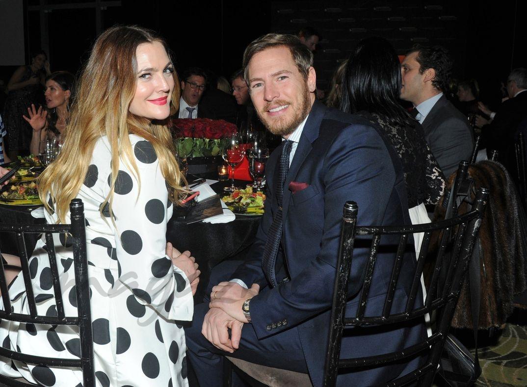 Drew Barrymore y Will Kopelma - Plates for Pediatrics gala en Nueva York - 2016