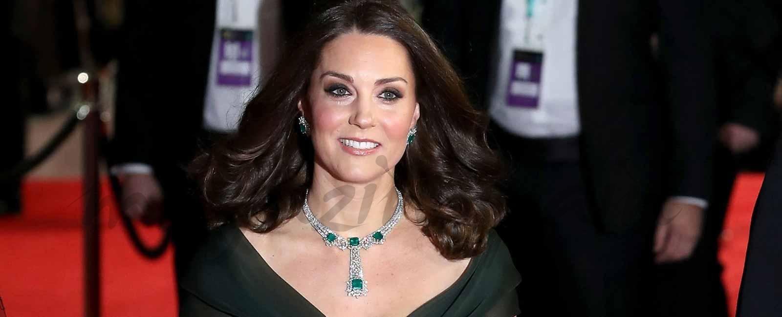 El comentado look de Kate Middleton en los Premios Bafta